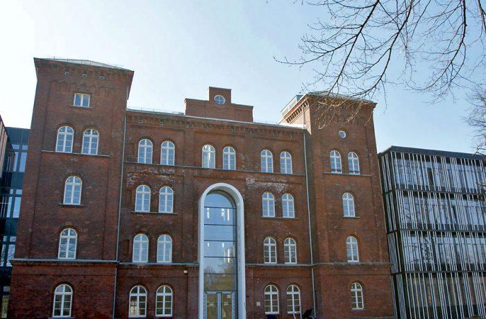 TUHH Hauptgebäude der technischen Universität Hamburg / Harburg